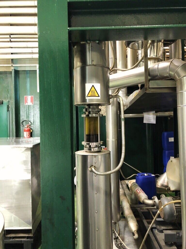 Bergamot processing at Capua