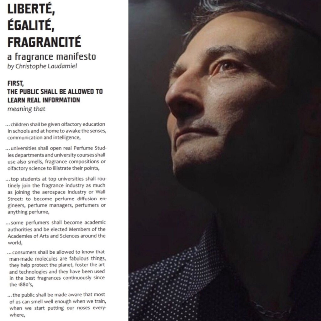 Christophe Laudamiel and his manifesto on education for all