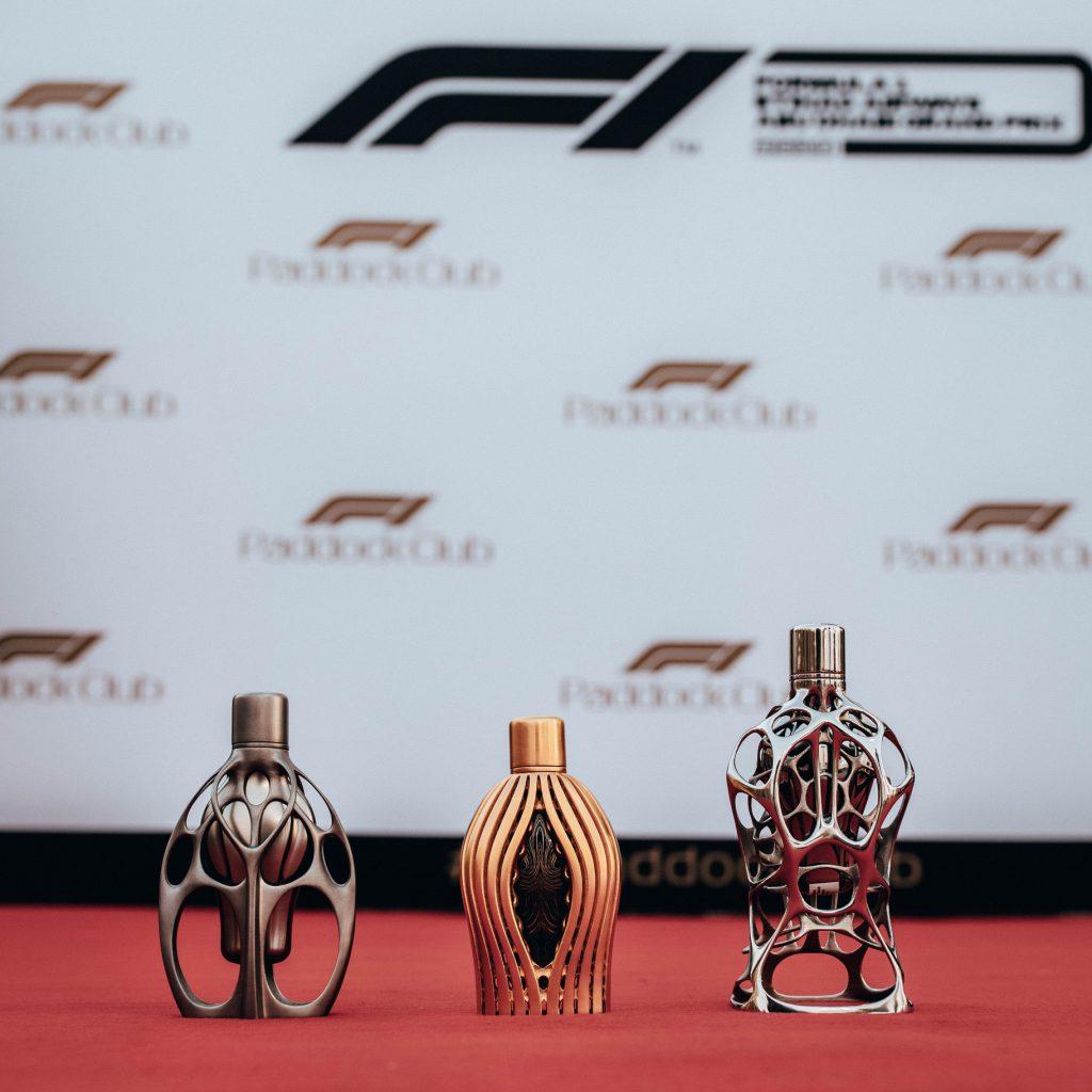 The F1 Fragrances Haute Parfumerie Collection